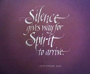 silence-spiritArrives