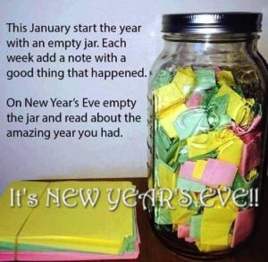 """NEW YEAR'S EVE – The Gratitude Jar and new possibilities"""