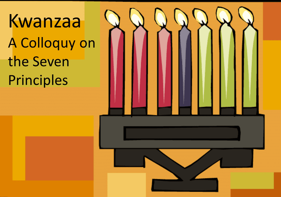 """CANDLES!  LIGHT!  Happy Kwanzaa, Solstice, Hanukkah, Christmas"""